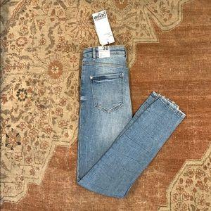 Zara Authentic TRF Hi Rise Skinny Ankle Jean